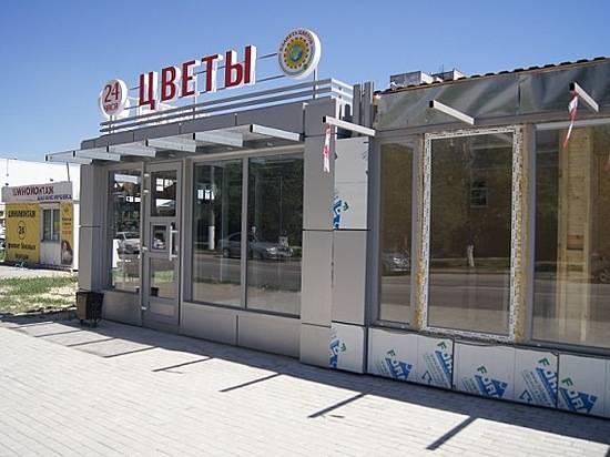 НаНовороссийской вВолгограде взамен рынка монтируют торговую галерею