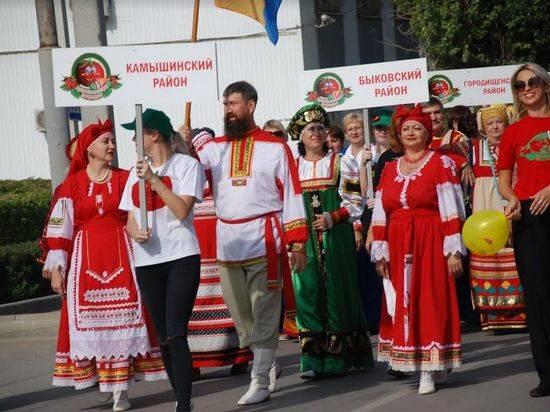 На празднике помидора выступили лучшие гармонисты волгоградской земли