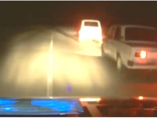 В Волгоградской области полицейские стреляли по колёсам, чтобы остановить пьяного водителя