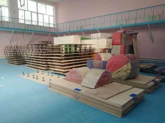 В волгоградскую спортшколу №1 поступила первая партия нового оборудования